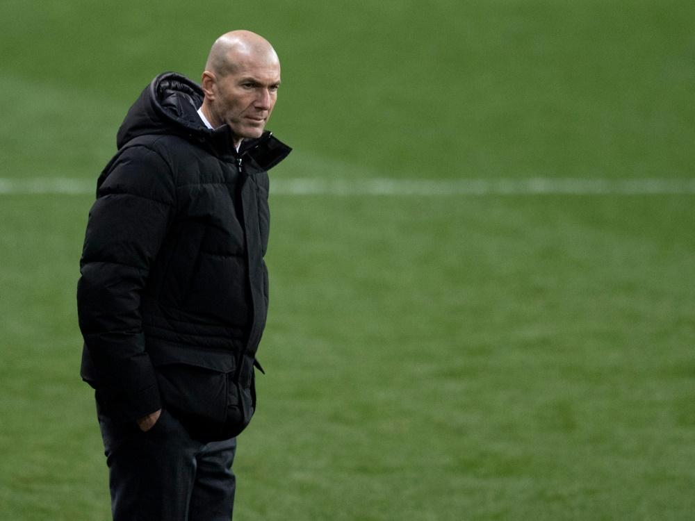 Positiver Coronatest bei Zinedine Zidane