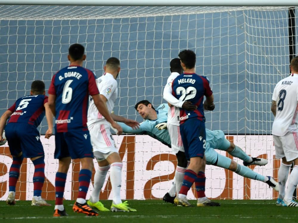 Real Madrid verliert überraschend gegen Levante
