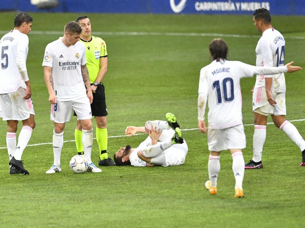 Real Madrid befindet sich in einem Tief