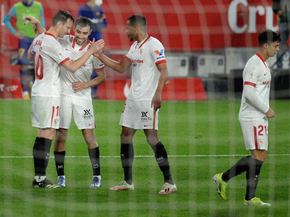 Rakitic traf gegen seinen Ex-Klub zum 2:0
