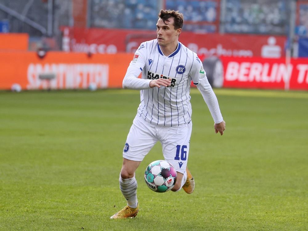 Der Karlsruher SC verliert 0:1 gegen den 1. FC Nürnberg