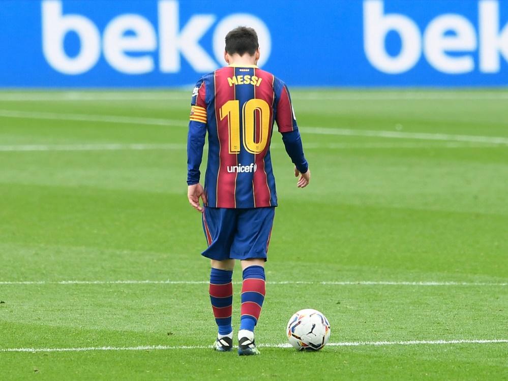 Lionel Messi ist nun Rekordspieler des FC Barcelona