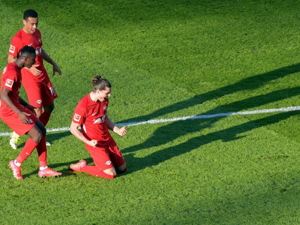 RB Leipzig kommt bis auf zwei Punkte an die Bayern heran
