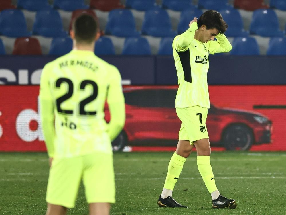 Atletico holt gegen Levante nur einen Punkt