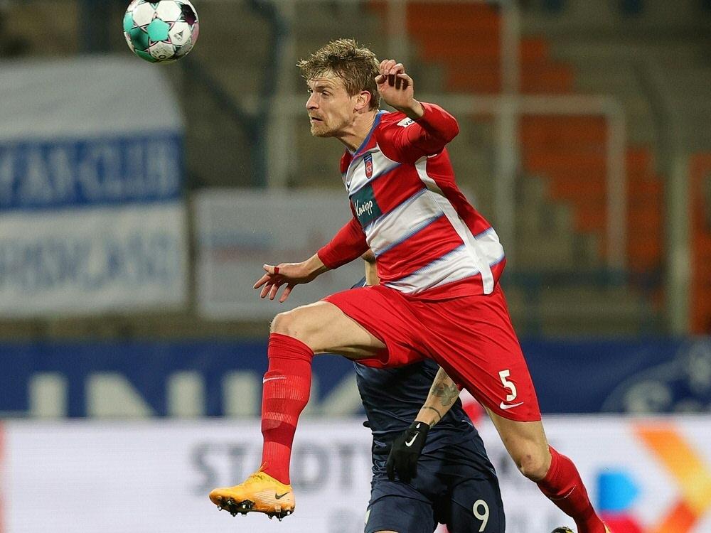 Hüsing erzielt das 2:0 für Heidenheim
