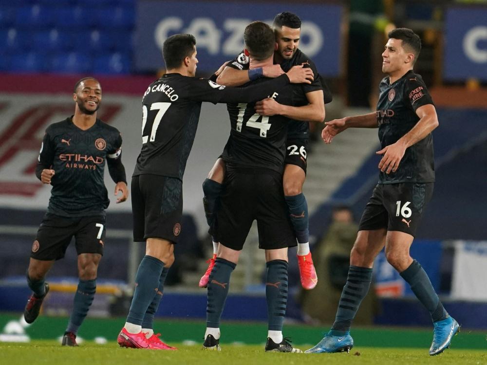 Manchester City feiert Auswärtssieg bei Everton