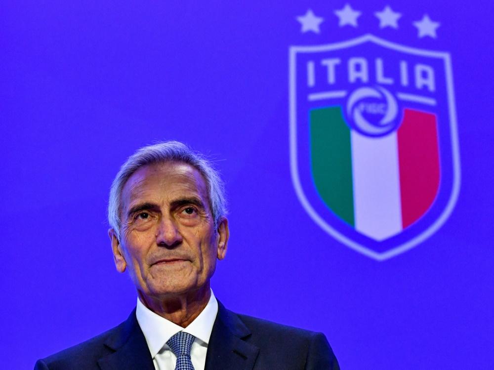 Gabriele Gravina will erneut Verbandschef werden