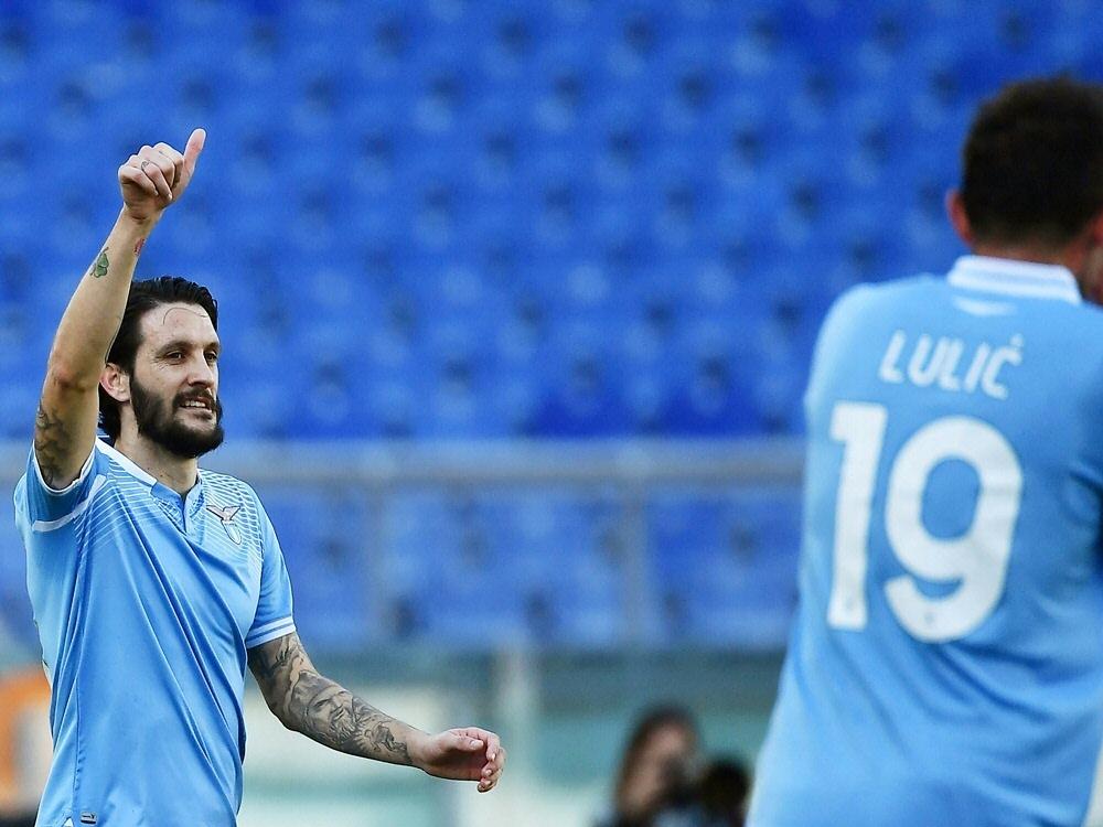 Luis Alberto schießt das Tor des Tages für Lazio Rom