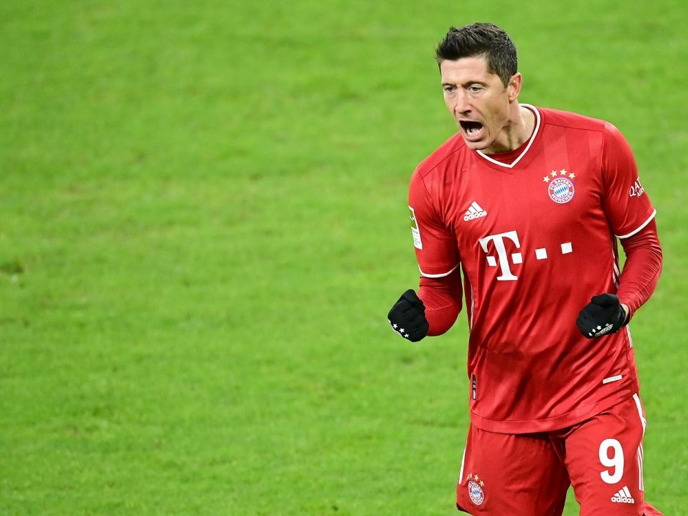 Bayern München präsentiert sich von der besten Seite