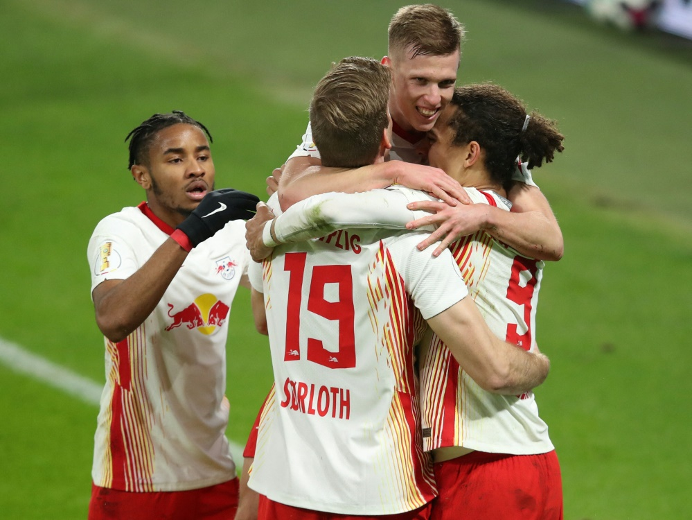 Souverän im DFB-Pokal-Halbfinale: RB Leipzig