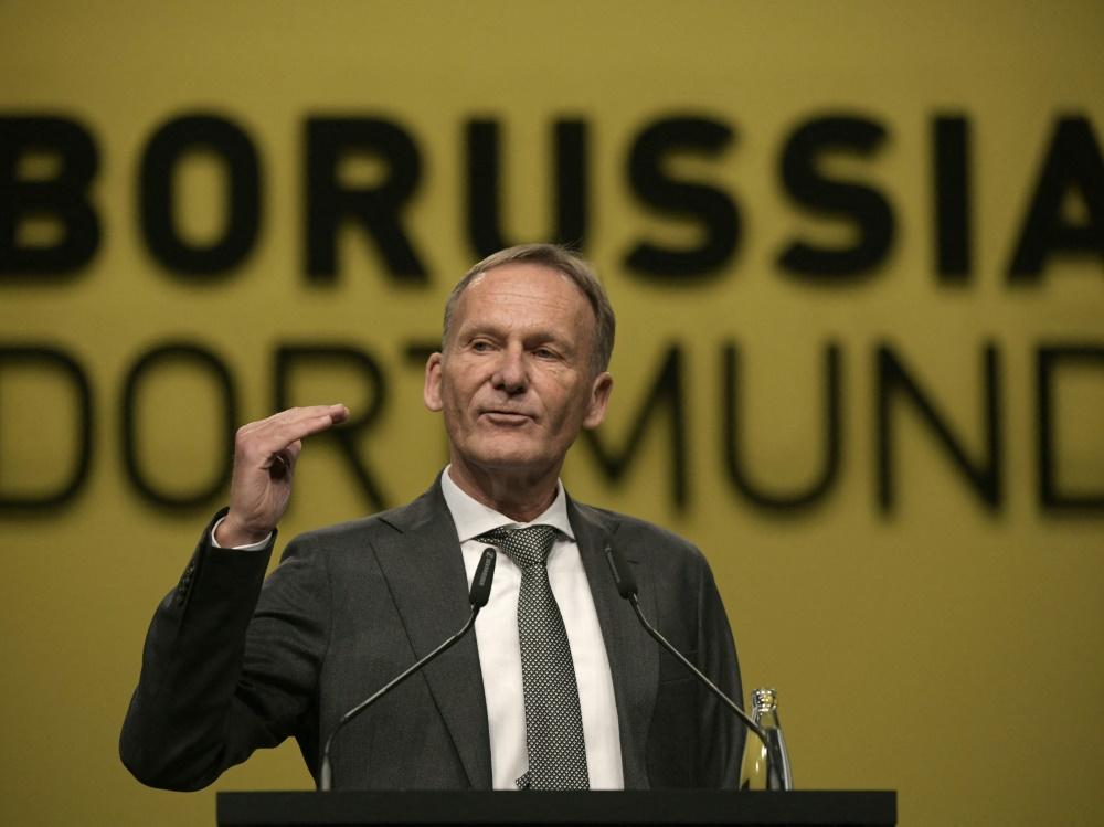 Watzke sieht den BVB weiter als zweite Kraft