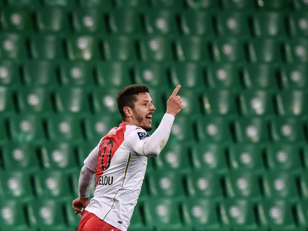 Jovetic traf zum 1:0 bei der AS St. Etienne