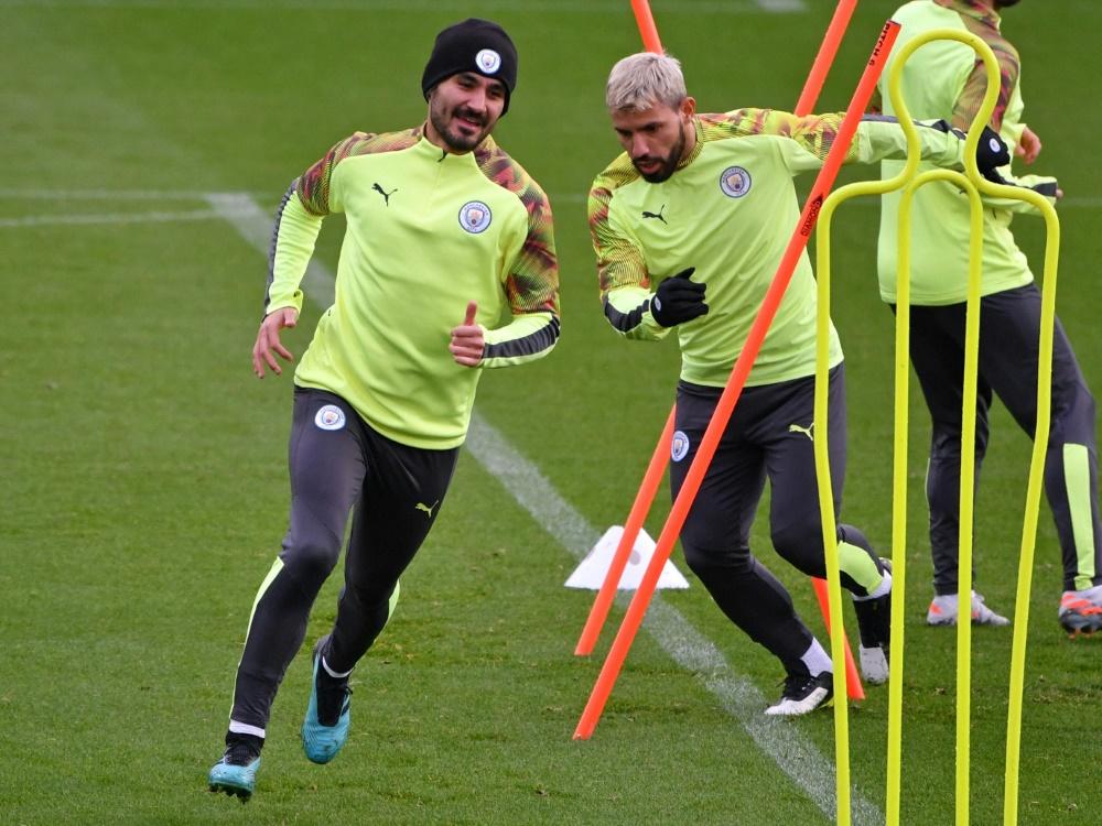 Gündogan lobt seinen Klubkollegen Sergio Agüero
