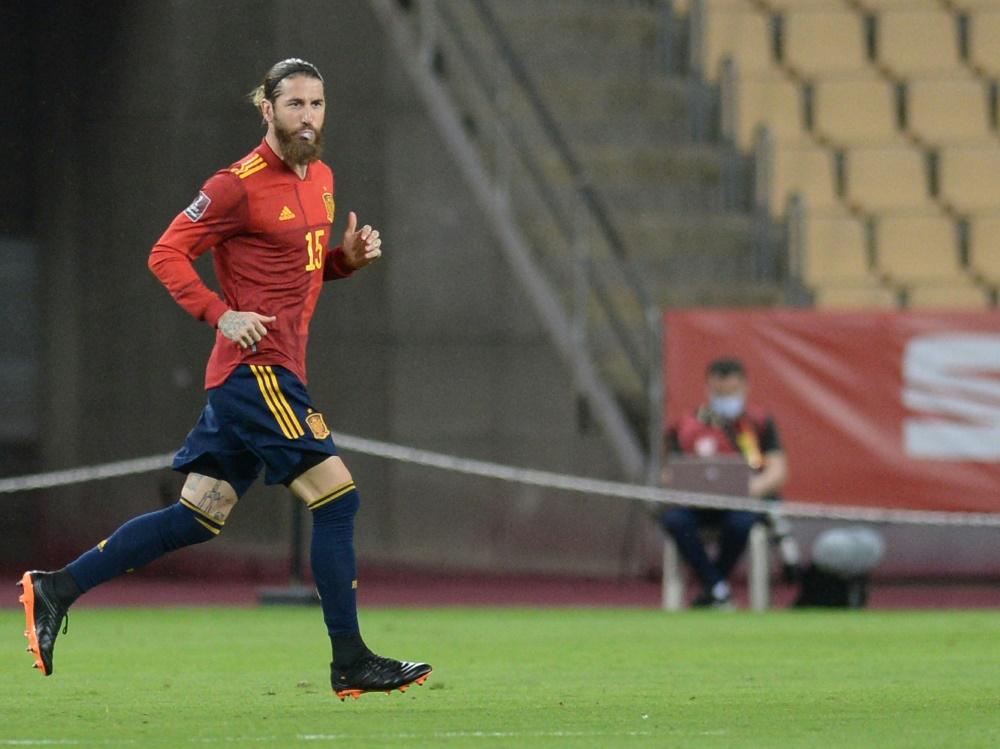 Sergio Ramos muss verletzungsbedingt pausieren