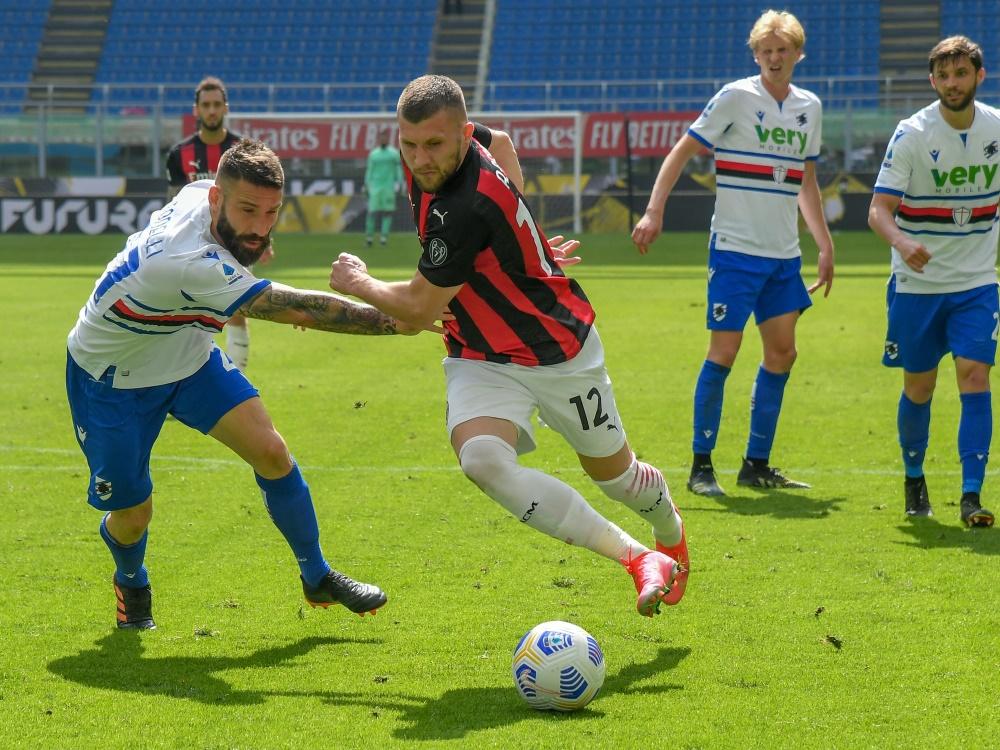 Milan kann sich nicht gegen Sampdoria durchsetzen