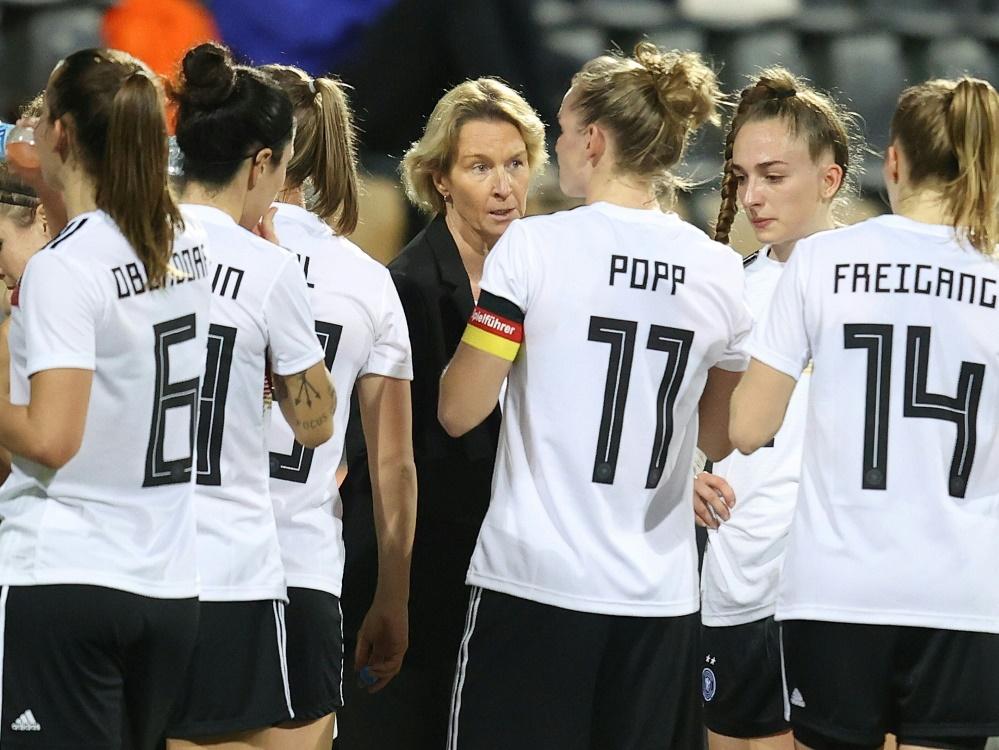 DFB-Frauen bereiten sich auf zwei Länderspiele vor
