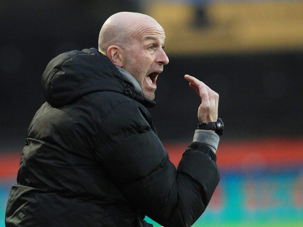 Kaiserslauterns Cheftrainer Marco Antwerpen