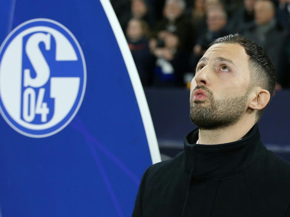 Tedesco war bis 2019 Trainer auf Schalke