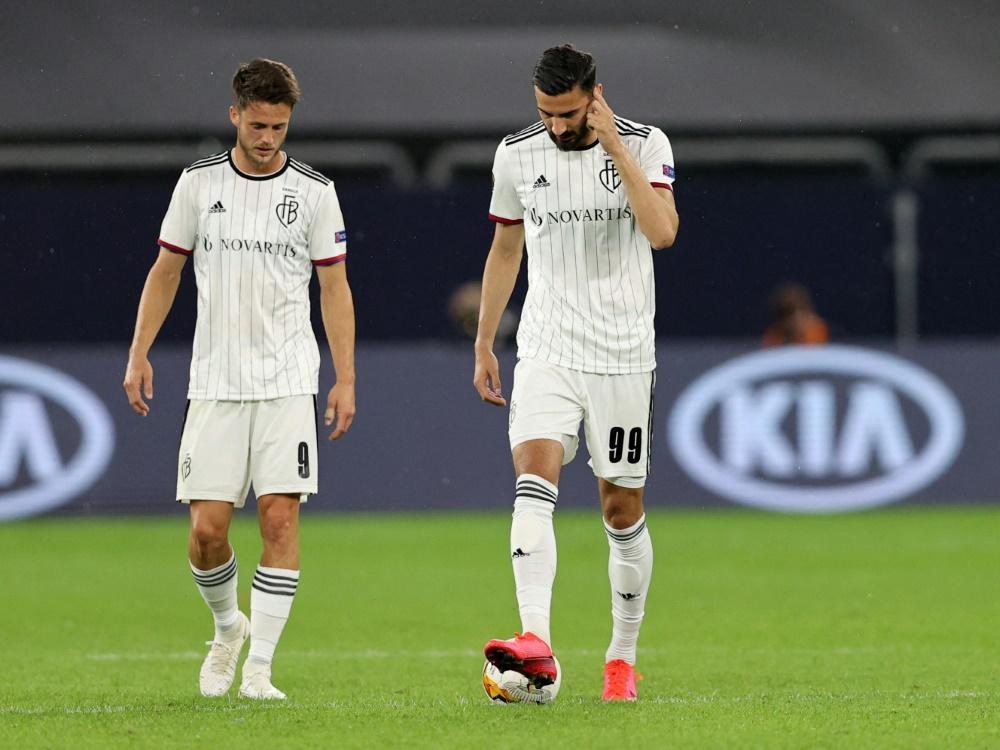 Der FC Basel steht derzeit nur auf Rang fünf