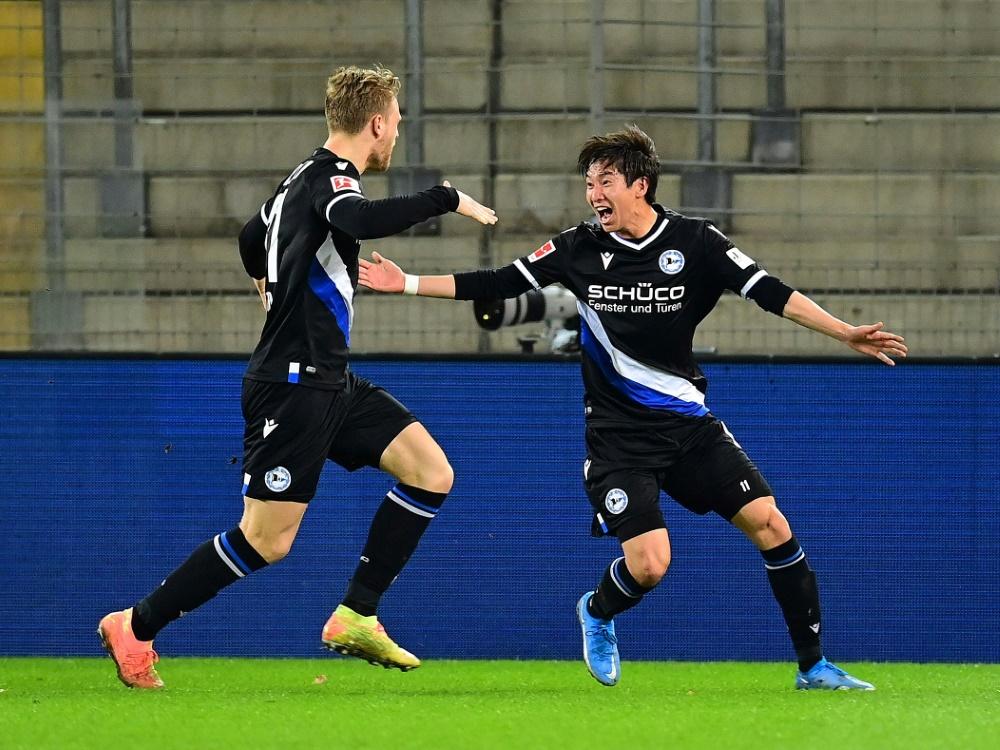 Bielefeld schlägt Freiburg knapp mit 1:0
