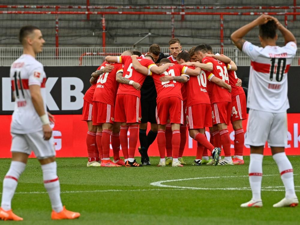 Union Berlin bezwingt den VfB Stuttgart 2:1