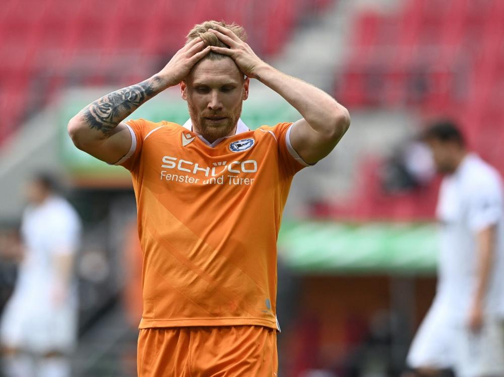 Voglsammer und Bielefeld spielen nur Remis in Augsburg