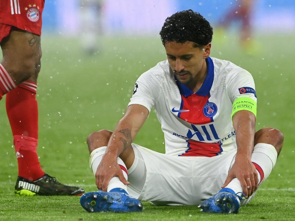 Marquinhos zog sich eine Adduktorenverletzung zu