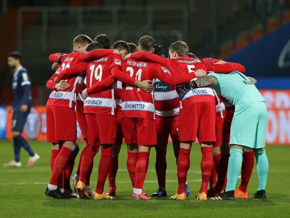 Heidenheim holt mit drei Toren den Sieg gegen Regensburg
