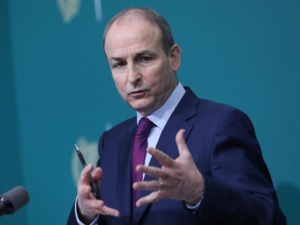Irlands Premierminister Micheal Martin übt Kritik
