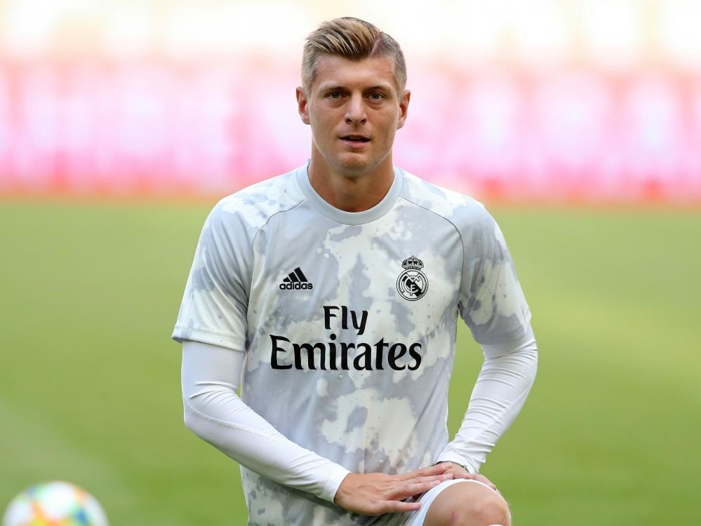 Toni Kroos spielt seit 2014 für Real Madrid