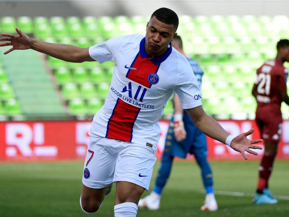 Mbappe verhilft Paris St. Germain zur Tabellenführung