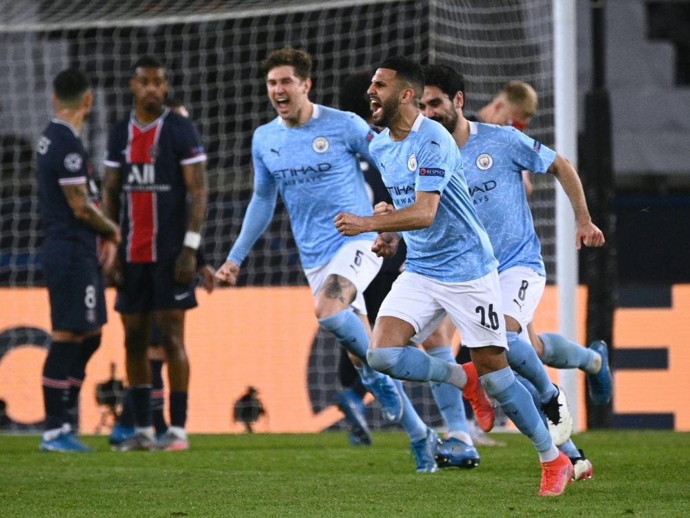 Manchester City triumphiert in Paris