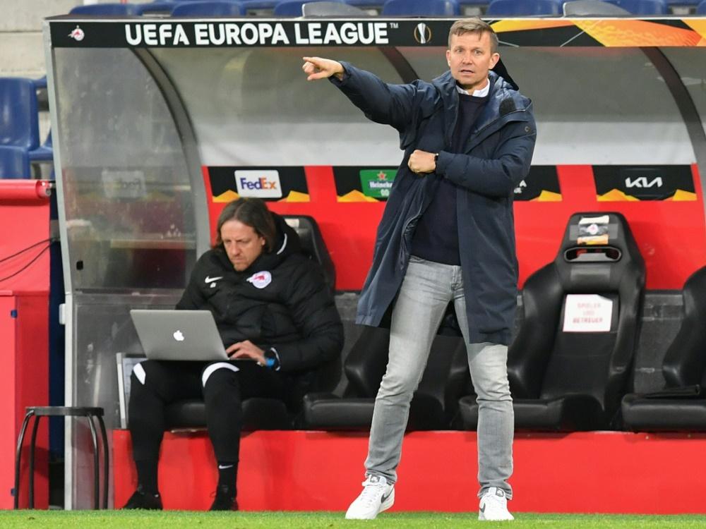 Holt mit Salzburg den Pokal: Jesse Marsch