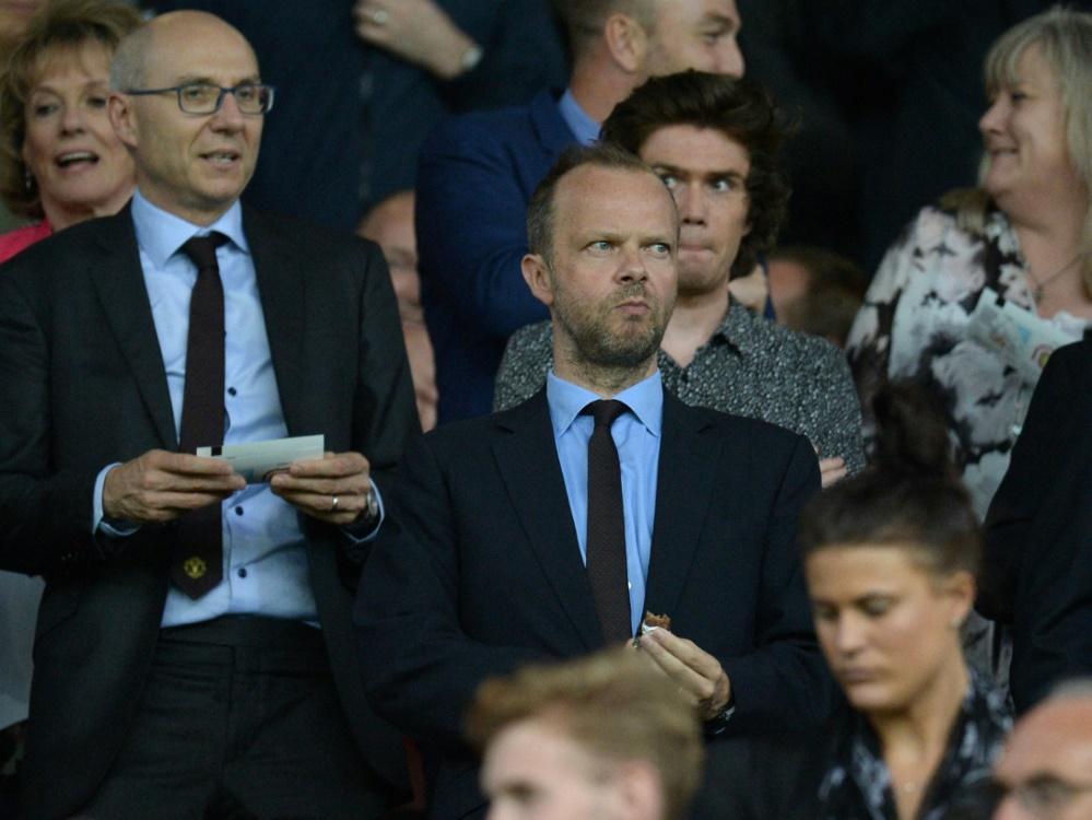 Ed Woodward (m.), Geschäftsführer von Manchester United