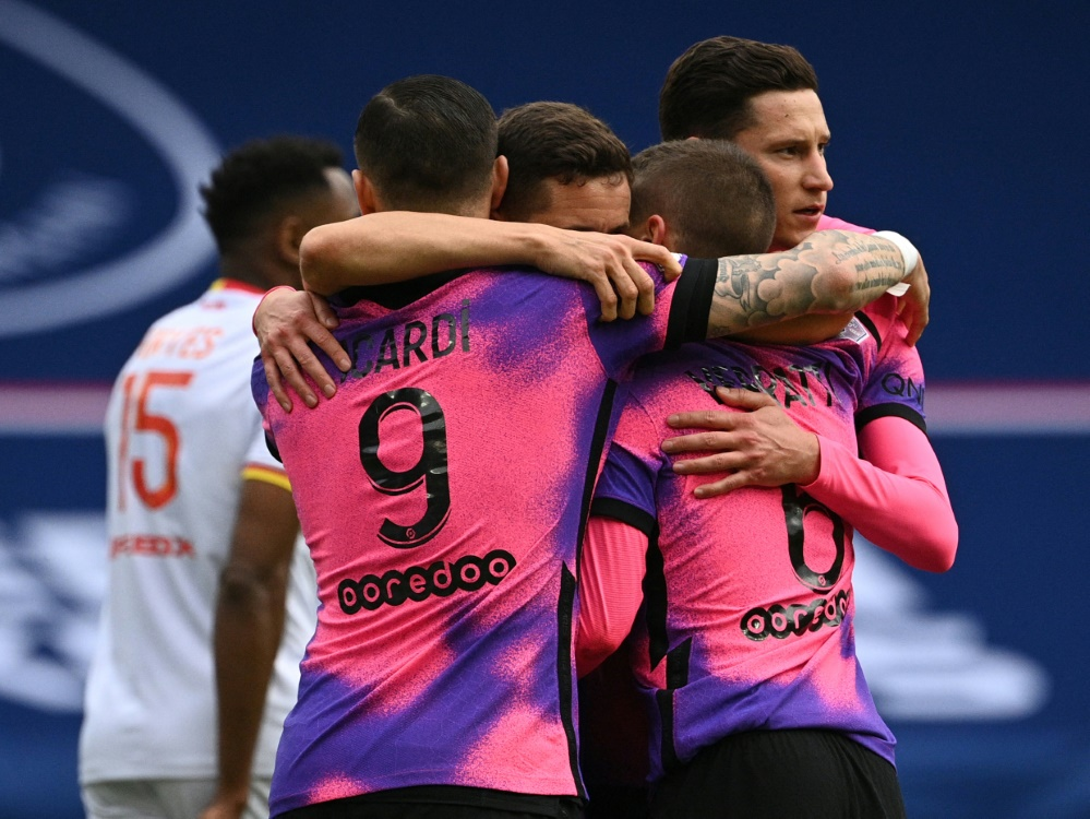 Paris St. Germain hat gegen den RC Lens gewonnen
