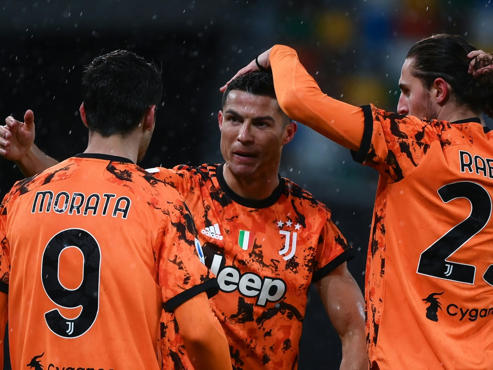 Cristiano Ronaldo brachte Juventus Turin den späten Sieg