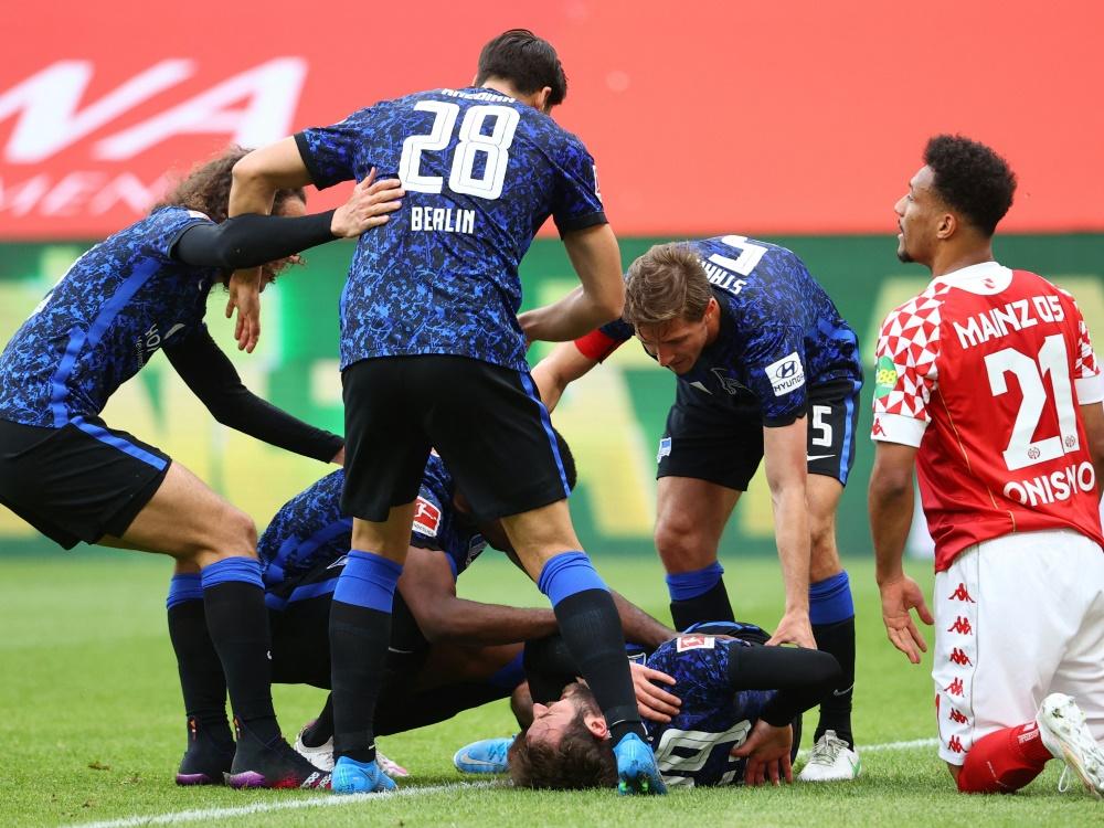 Hertha holt einen Punkt gegen Mainz