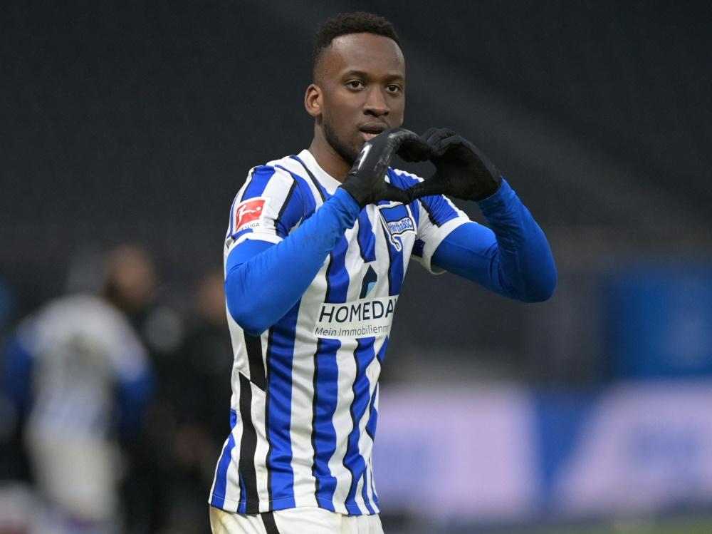 Lukebakio bei Hertha BSC wieder im Training