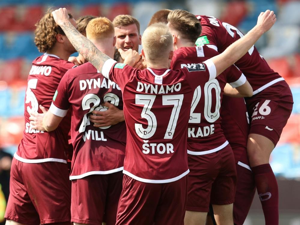 Dynamo Dresden könnte am Sonntag aufsteigen