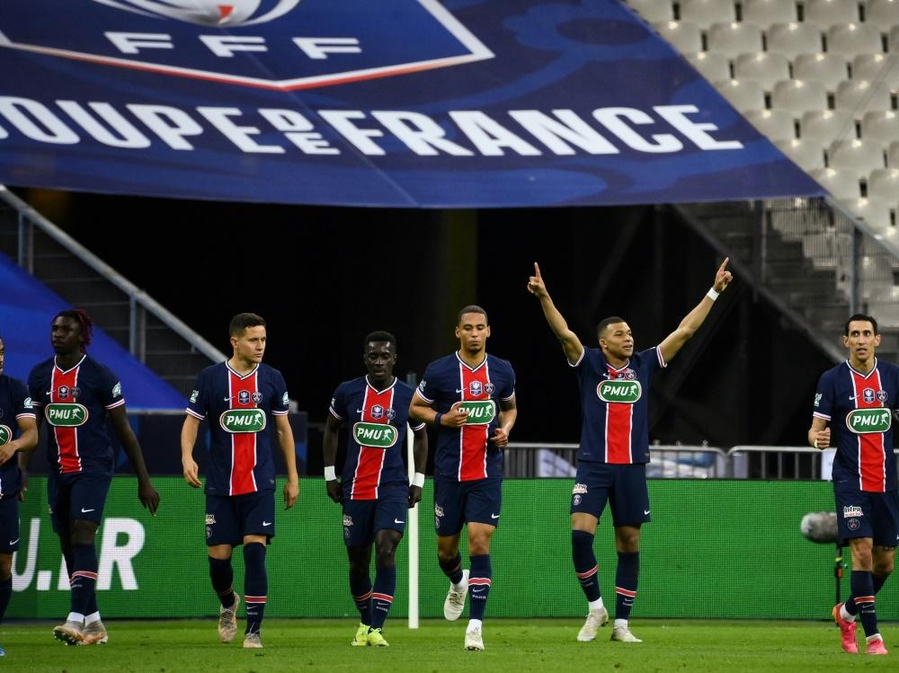 PSG holt zum 14. Mal den französischen Pokal