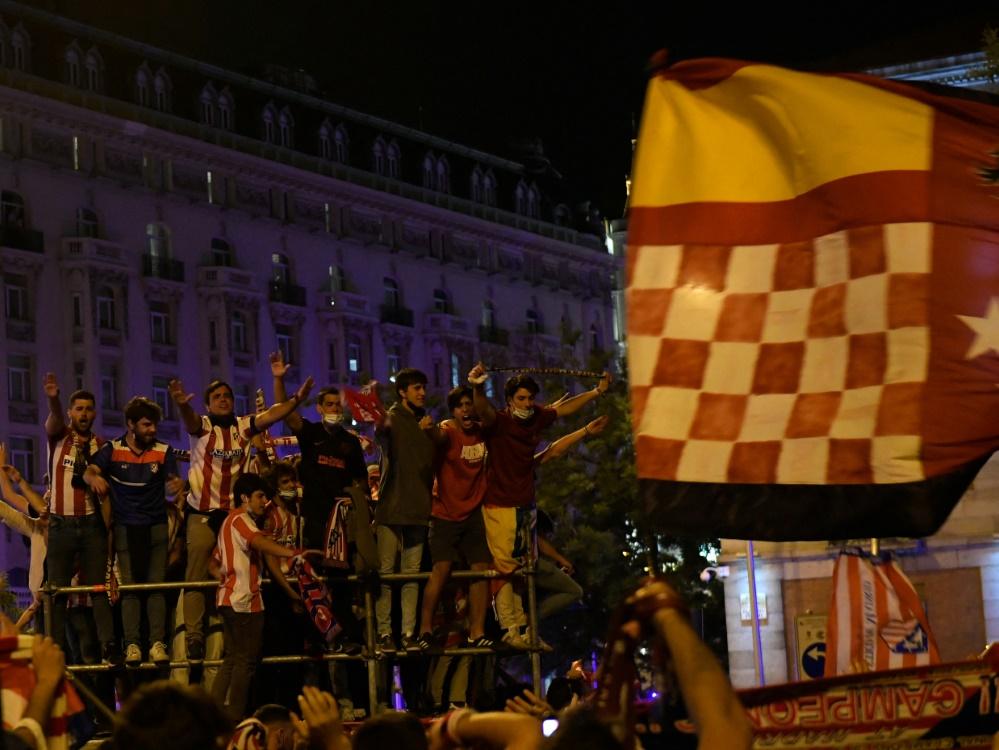 Bei den Feierlichkeiten verstarb ein Atletico-Fan