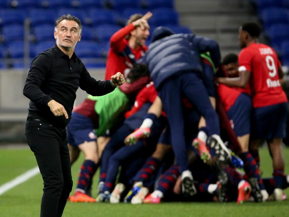 OSC Lille wird französischer Meister