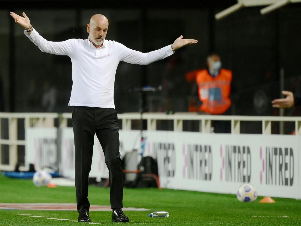 Milan-Coach Stefano Pioli