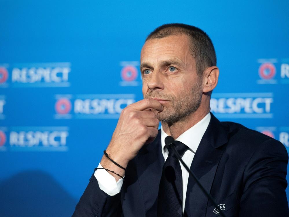 Aleksander Ceferin plädiert für ein Final-Four-Turnier
