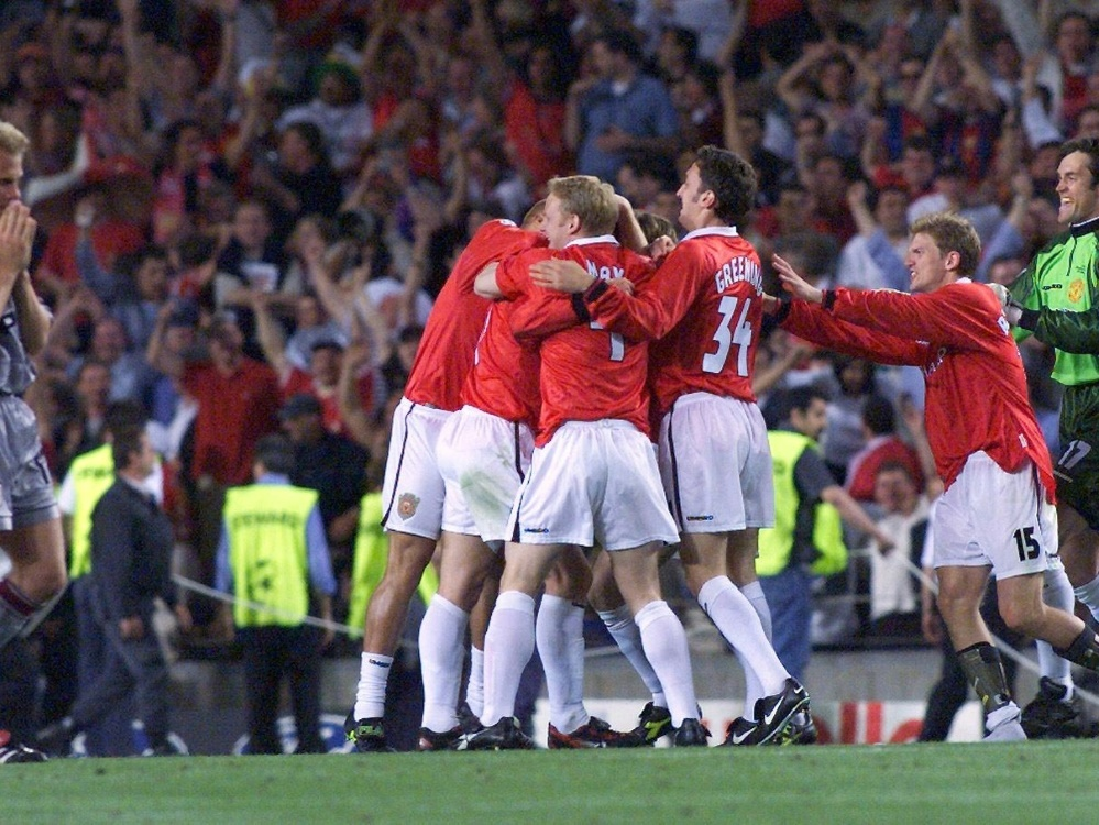 Manchester United dreht in der Nachspielzeit das Finale