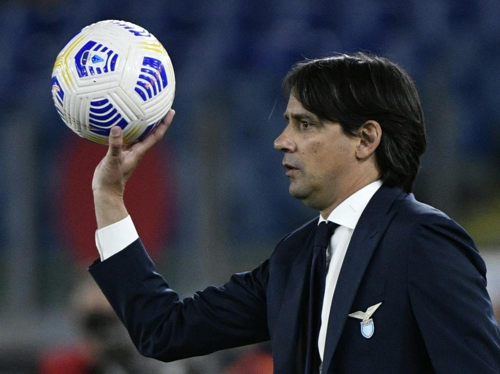 Verlässt offenbar Lazio Rom: Simone Inzaghi