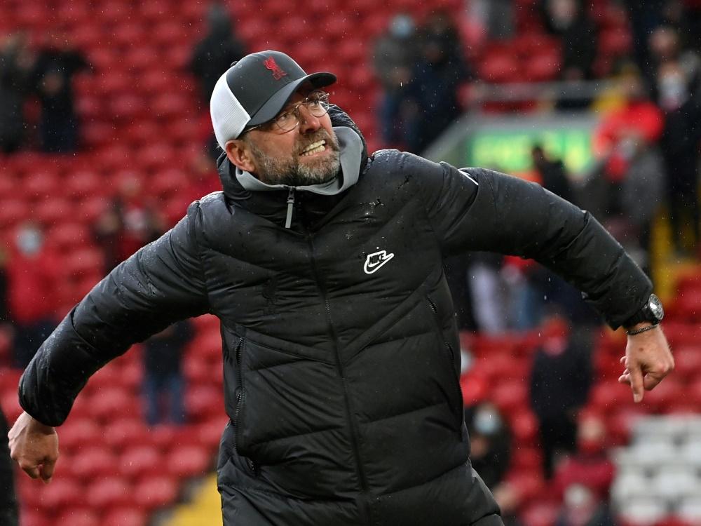 Erfolgreicher Schlussspurt für Jürgen Klopp und die Reds