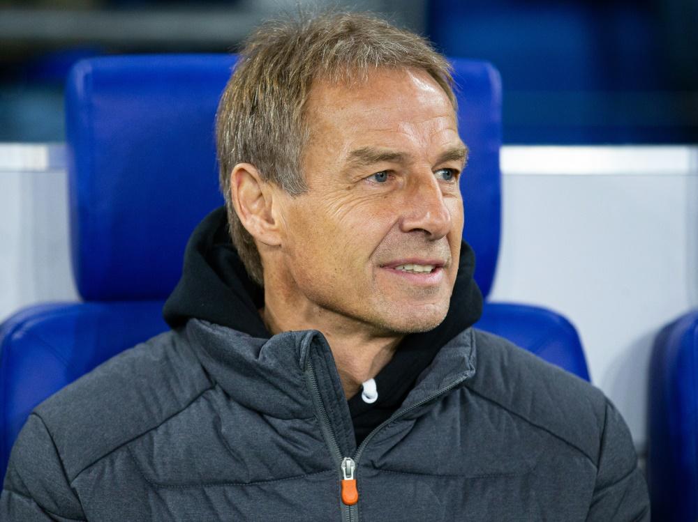 Jürgen Klinsmann trainierte zuletzt Hertha BSC