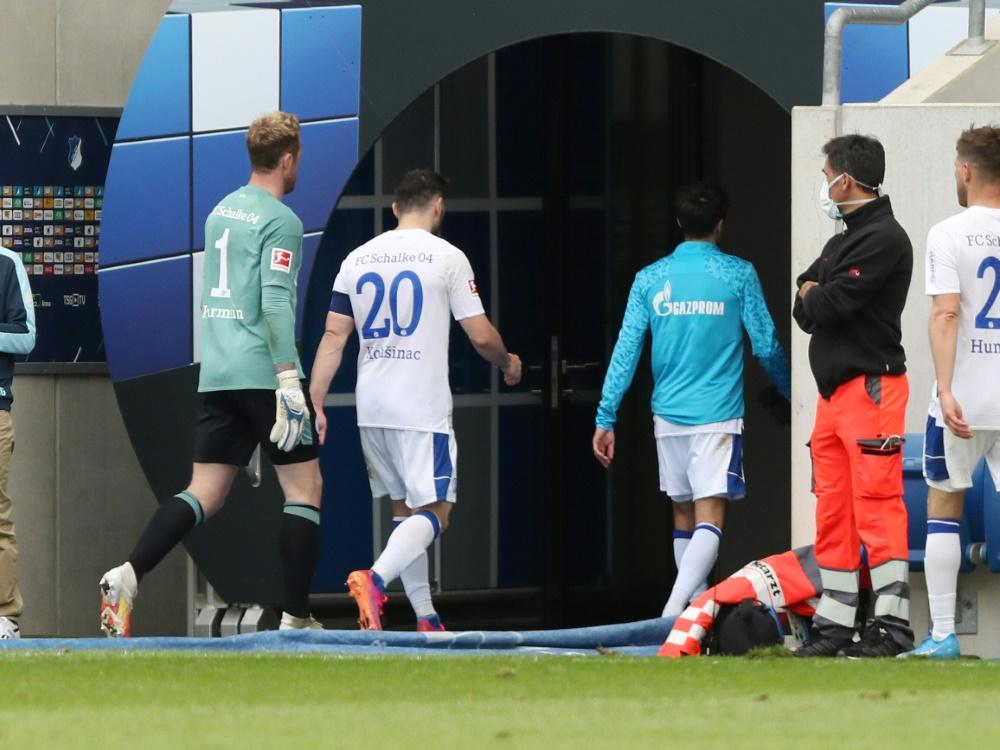 Klaas-Jan Huntelaar und Sead Kolasinac verlassen Schalke