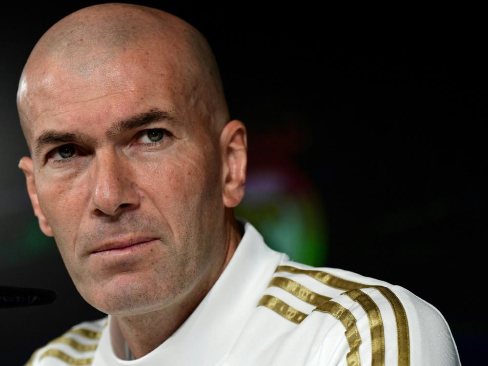 Zidane verliert keine guten Worte über Real Madrid